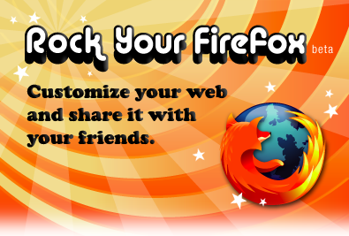 Rock Your Firefox promo